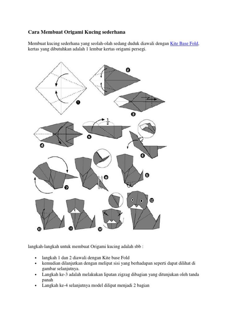 Gambar Origami yang Bentuknya Seperti Hewan Asli, Keren! - Dunia ... | 1024x768