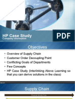 259407157 HP Supply Chain Case Study