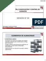 Abastecimiento y Control de Almacenes - Sesión 3
