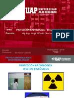 Radiologia Unidad i - 2 Efectos Biologicos, Radioprotección.
