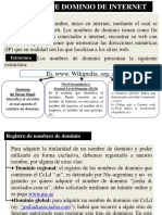 8)Dominio de Internet (1)
