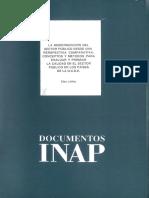 Documentos Inap, Nº 8 La Modernización Del Sector Público Desde Una Perspectiva Comparativa