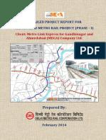 Ahmedabad Metro DPR 2014