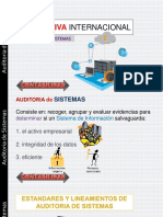 ESTANDARES INTERNACIONALES PARA AUDITORIA DE SISTEMAS
