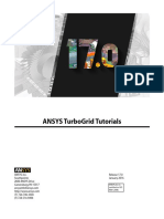 ANSYS TurboGrid Tutorials r170