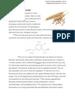 organic chemistry project
