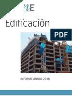 Informe Anual de Edificación 2016