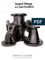 SCI Flanged Fittings - FLG0815