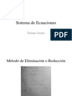 Sistema de Ecuaciones (1)