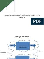 Mahalanobis Distance Based Damage Detection Approach