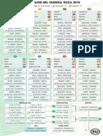 Calendario Mundial Rusia 2018 Horario Ecuador