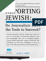 Reporting Jewish