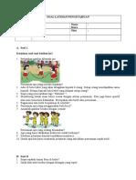 Soal Tema 2 - Subtema 3
