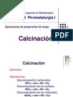 Calcinacion