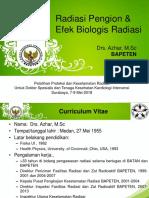 01. Radiasi Pengion Dan Efek Biologis Radiasi-Azhar