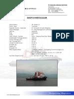 Ship's Particular - TB. Radar 11