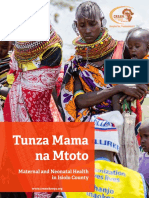 Maternal and Neonatal Health Newsletter - Isiolo County