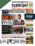 Gazzetta Dello Sport Con Edizioni Locali 4 Giugno 2018