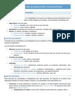 SECTORES DE PRODUCCIÓN ECONÓMICA CCSS