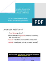Antimicrobial Stewardship Regarding to Pharmacokinetic and Pharmacodynamic