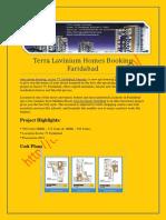 Terra Group, Lavinium, Booking Form, Sector 75, Faridabad