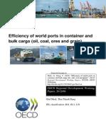 OECD - Efficiency of World Ports 2012.pdf
