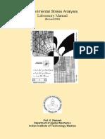 Experimental Mechanics Laboratory Manual