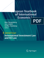 110 International Investment Law and EU Law