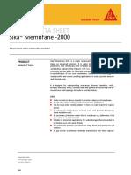Sika Membrane 2000