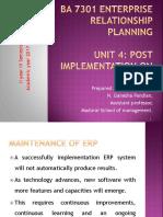 unit4postimplementationonerp-171010164544