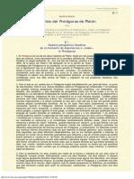1980 - Gustavo Bueno - Análisis Del Protágoras de Platón. 1980