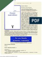 1972  -Gustavo Bueno, Ensayos materialistas, Taurus, Madrid 1972.pdf
