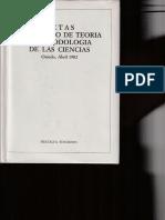 1982 - Gustavo Bueno - Gnoseología de Las Ciencias Humanas