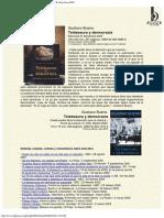2002 - Gustavo Bueno Telebasura y Democracia Ediciones B, Barcelona 2002