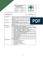 2.3.6.3 SPO Peninjauan Kembali Tata Nilai Dan Tujuan Puskesmas