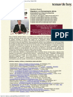 2006 - Gustavo Bueno Zapatero y El Pensamiento Alicia Temas de Hoy, Madrid 2006