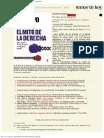2008 - Gustavo Bueno, El Mito de La Derecha, Temas de Hoy, Madrid 2008