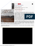 2016 - Gustavo Bueno, El Mito de La Cultura