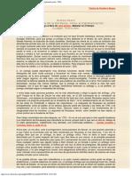 2001 - La Nostalgia de La Barbarie, Como Antiglobalización, Antílogo Al Libro de John Zerzan, Malestar en El Tiempo, 2001