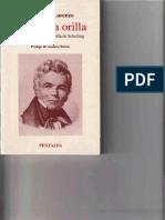 1989 - La Última Orilla. Manuel F. Lorenzo. Prólogo de Gustavo Bueno