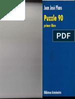 1991 - Puzzle 90 Juán José Plans (Prólogo de Gustavo Bueno)