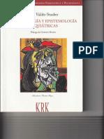 2002 - Juan Valdés-Stauber. Antropología y Epistemología Psiquiátricas. Prólogo de Gustavo Bueno