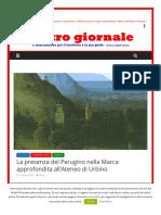 La presenza del Perugino nella Marca approfondita all'Ateneo di Urbino - L'Altrogiornale.it, 4 giugno 2018