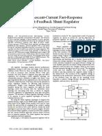 2008 JChen Low Quiescent Current Fast Response Current Feedback Shunt Regulator