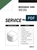 Samsung Md800 Microwave