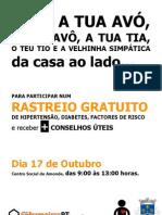 Rastreio em Amonde 2010 - Viana do Castelo- enfermeirosPT