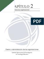Diseño y administración de las organizaciones