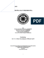 Laporan Kasus Miopia & Presbiopia
