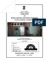 Handbook on Micro Controller Based Governor Fitted on Diesel Locomotives