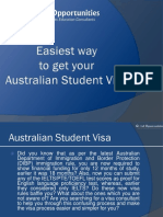 Easiest Way to Get Your Australian Student Visa